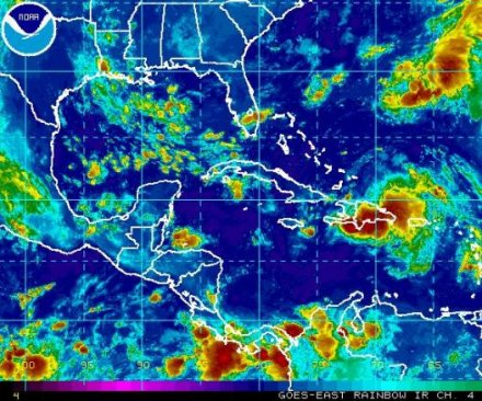 Tropical wave '99L' remains disorganized while Hurricane Gaston expected to weaken
