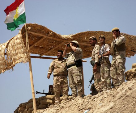 Peshmerga general: Kurdish fighters need helicopter cover