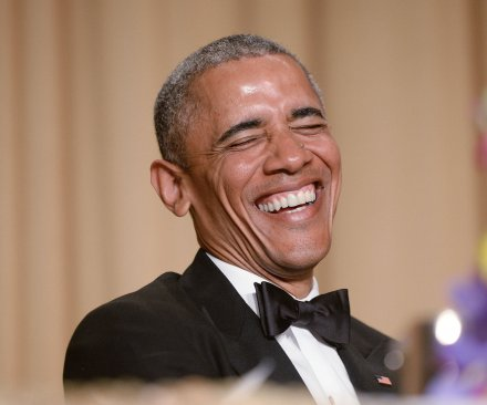 Risque humor and earnest recognition at White House Correspondents dinner