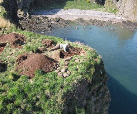 Researchers find evidence of earliest Pictish fort