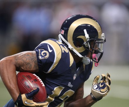 Rams suspended WR Stedman Bailey reportedly shot in Miami