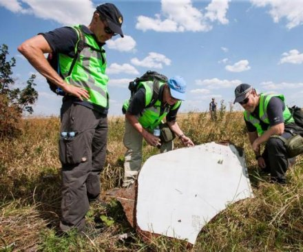 Russians again blame Ukraine for Malaysia Airlines Flight 17 crash