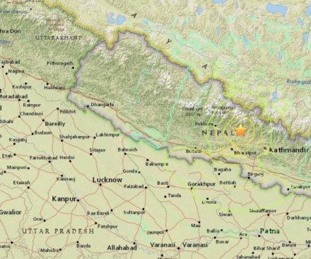 Powerful earthquake shakes Nepal, hundreds dead