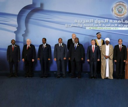 Arab League leaders agree to joint, voluntary military force