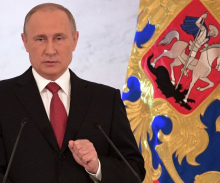 Putin signs updated policy to thwart cyberattacks, foreign influence