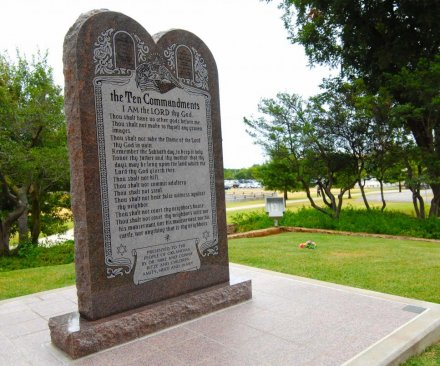 Ten Commandments statue removed from Oklahoma Capitol