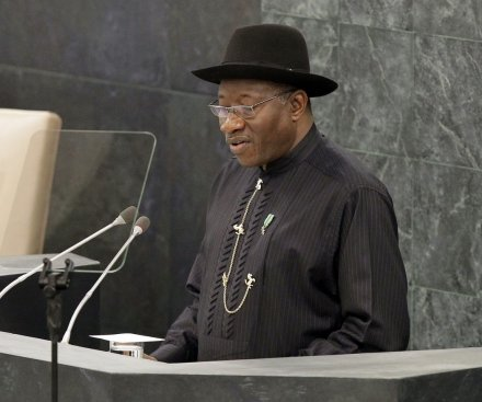 Nigerian President Goodluck Jonathan's party defeated in election