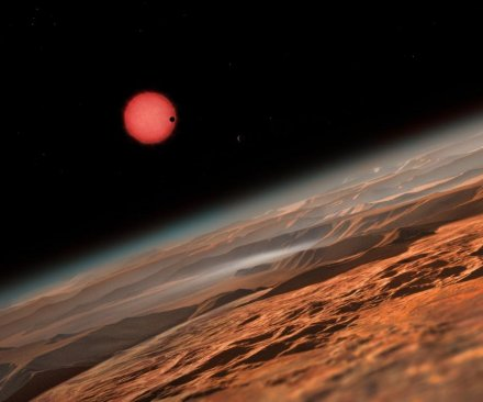 Three potentially habitable exoplanets found orbiting super cool dwarf star
