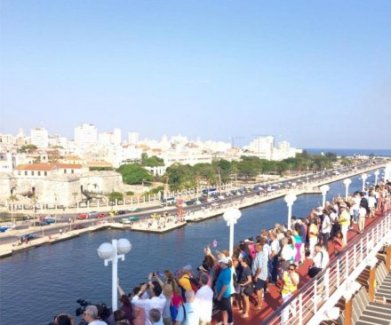 Carnival's Adonia becomes first U.S. cruise ship to arrive in Cuba since 1978