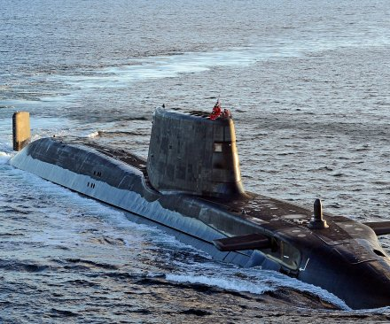 British nuclear sub damaged