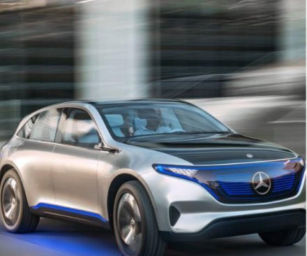 Mercedes-Benz unveils electric SUV concept