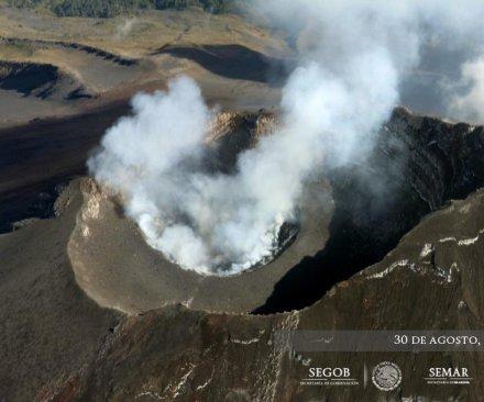 Mexico's Popocatépetl volcano eruption causes 3-magnitude earthquake