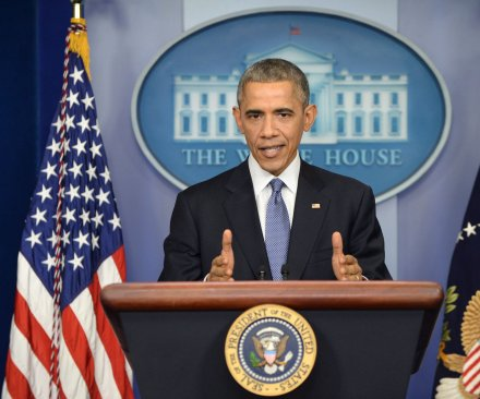 Obama looks back on 2014 as 'year of action' on economy, global leadership