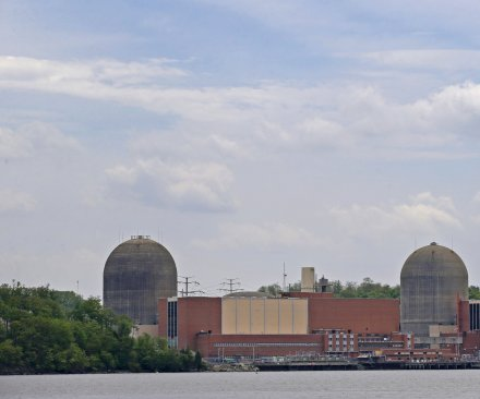 Indian Point reactor leak