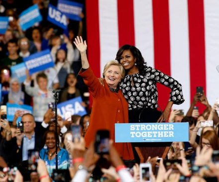 First lady dazzles N.C. crowd at Clinton rally: 'If Hillary doesn't win that's on us'