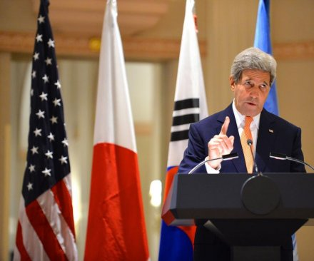 Kerry calls on North Korea to shut prison camps
