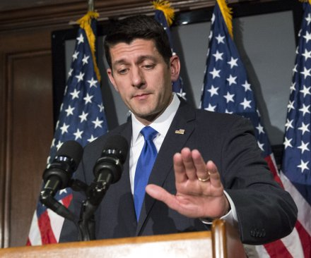House Speaker Ryan says he can't yet endorse Trump for Republican nomination