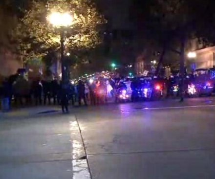 Dozens arrested, cited in Northern California police crackdown on protests