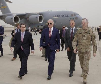 Biden makes unannounced trip to Iraq