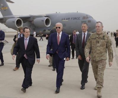 Biden makes unannounced trip to Iraq