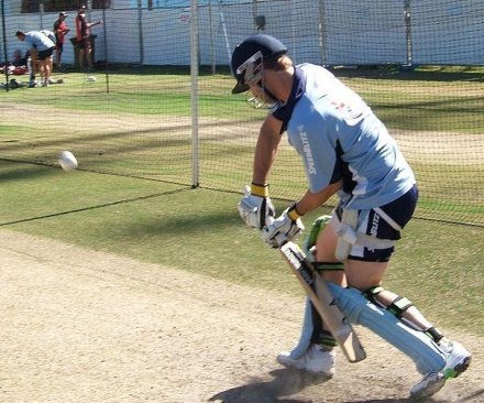 Australian cricket player in critical condition after being struck by ball