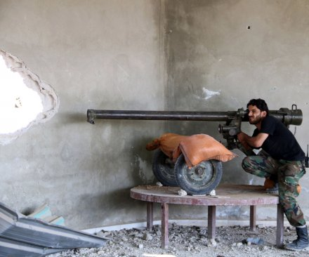 Syrian rebels seize town of Jarablus from Islamic State