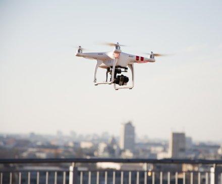 Drone crashes on Boston-area parade, two injured