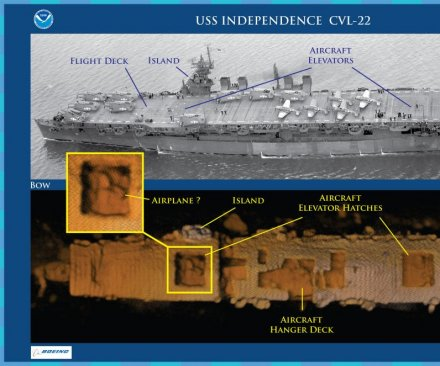 WWII vessel confirmed intact after 64 years on seafloor