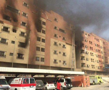 7 dead, hundreds injured in Saudi oil company compound fire