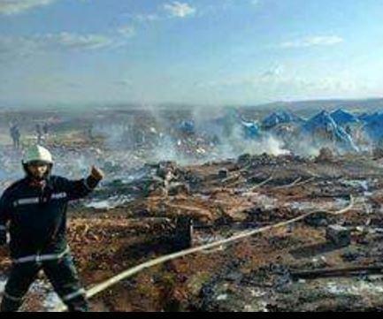 Airstrike on Syrian refugee camp kills 28