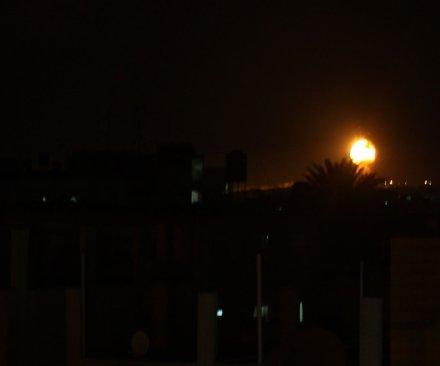 Israel strikes Hamas targets in retaliation to failed rockets from Gaza