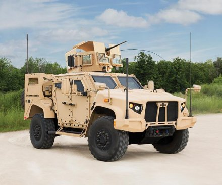 Oshkosh Defense awarded $6.75B Joint Light Tactical Vehicle contract