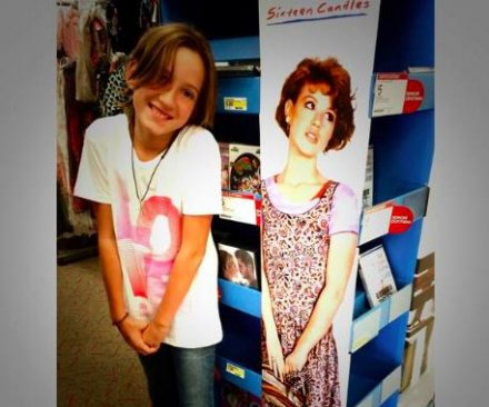 Molly Ringwald's daughter channels 'Sixteen Candles' character