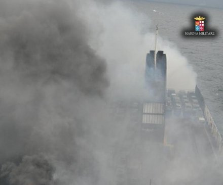 Rescue effort completed in Adriatic ferry fire, 5 dead
