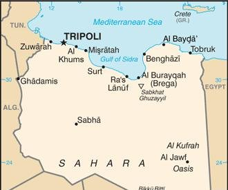 Libyan air force conducts airstrikes against rebels in Misrata for first time