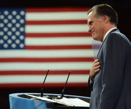 Poll: Romney leader of the large Republican 2016 pack