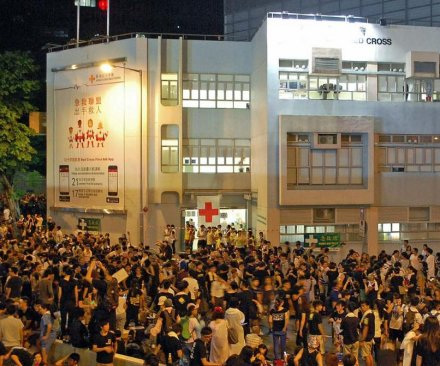 Taiwan sides with Hong Kong pro-democracy protesters