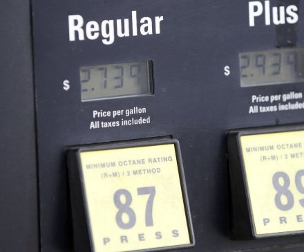Gas prices may moderate, AAA says