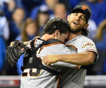 San Francisco Giants win third World Series title in five years