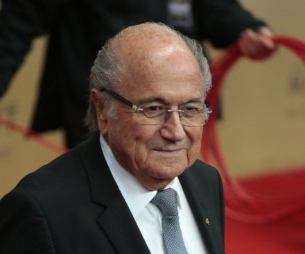 FIFA re-elects Sepp Blatter president amid corruption scandal