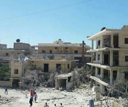 Two killed in Syria maternity hospital bombing
