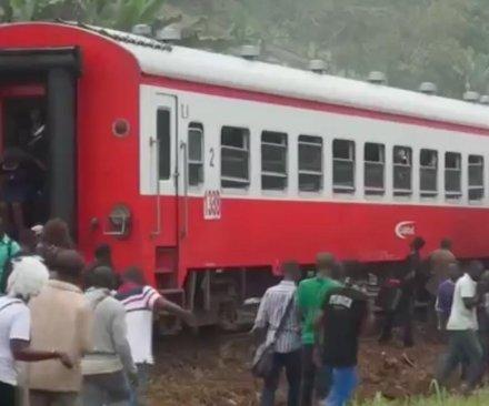 Dozens killed, hundreds injured in crowded Cameroon train derailment