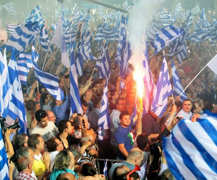 Greece voting in historic, destiny-changing bailout referendum