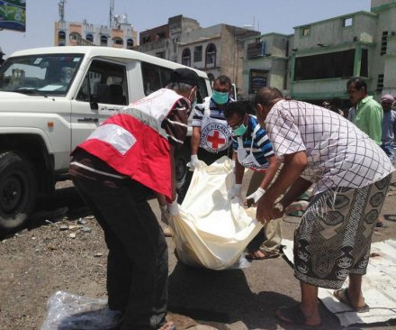 Two Red Cross aid workers killed by gunmen in Yemen