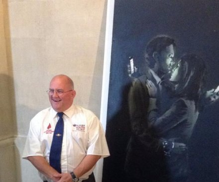 Sale of Banksy artwork saves youth club