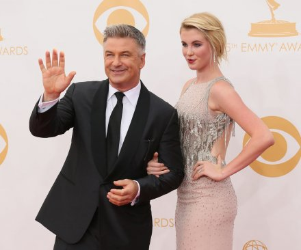 Alec Baldwin easily catches stray tennis ball at U.S. Open