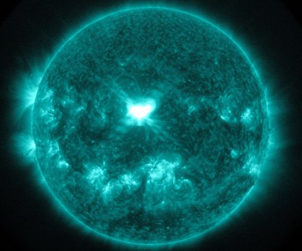 Northern Lights visible farther south due to solar flare