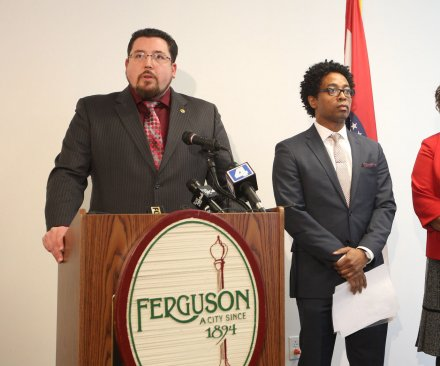 Justice Dept. sues Ferguson over alleged racial bias