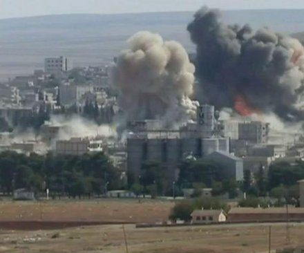 Kurdish troops take control of Kobane away from Islamic State