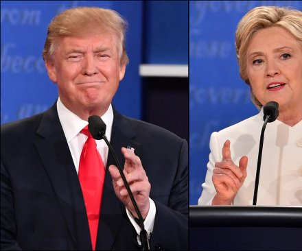 UPI/CVoter poll: Hillary Clinton leads Donald Trump by 3 points